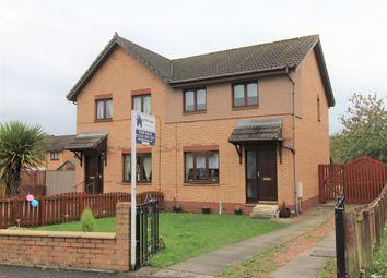 Thumbnail 3 bed semi-detached house for sale in Hddington Way, Coatbridge