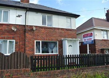 Thumbnail 2 bedroom semi-detached house for sale in Scorton Avenue, Blackpool