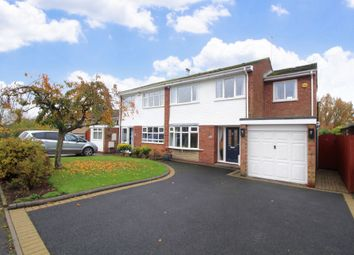 Thumbnail 4 bed semi-detached house for sale in Myton Drive, Shirley, Solihull