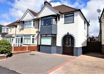 Thumbnail 3 bed semi-detached house for sale in Hydes Road, West Bromwich