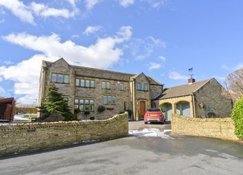 Thumbnail 4 bedroom detached house for sale in Sheardale, Honley, Holmfirth