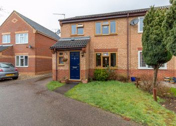Thumbnail 3 bed semi-detached house for sale in Bell Close, Taverham, Norwich