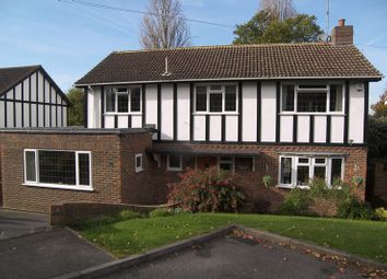 Thumbnail 4 bed detached house for sale in Trystings Close, Claygate, Esher