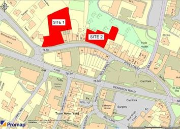 Thumbnail Commercial property for sale in Residential Development Site (Site 1), Former Rickards Garage, Pool Street, Bodmin, Cornwall