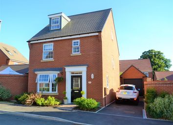 Thumbnail 4 bed detached house for sale in Badger Crescent, Whitchurch