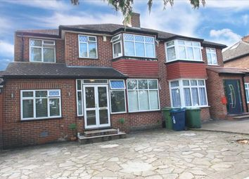 Thumbnail 4 bed semi-detached house for sale in Crowshott Avenue, Stanmore