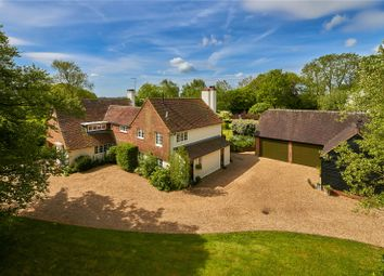 Thumbnail 5 bedroom detached house for sale in Dippenhall, Farnham, Surrey