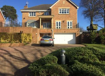 Thumbnail 5 bed detached house for sale in The Brackens, Delph Lane, Daresbury