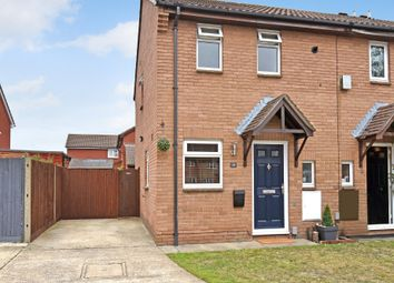 Thumbnail 2 bed end terrace house for sale in Braemore Close, Thatcham
