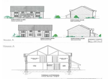 Thumbnail 3 bed semi-detached house for sale in Plots 1 And 10, Y Wern, Rhydymain Dolgellau