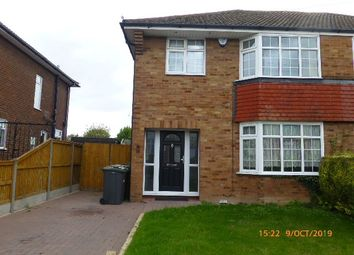 Thumbnail 4 bed semi-detached house to rent in Black Swan Lane, Luton