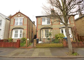 Thumbnail 3 bed semi-detached house to rent in St Georges Road, Kingston Upon Thames