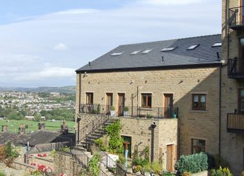 Thumbnail 2 bed flat to rent in Burrwood Court, Holywell Green, Halifax