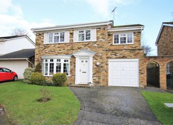 Thumbnail 4 bed detached house for sale in Hawkes Close, Wokingham, Berkshire