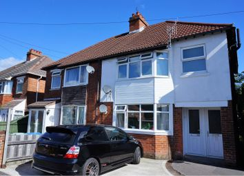 Thumbnail 1 bedroom maisonette for sale in Peveril Road, Southampton