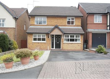 Thumbnail 4 bed detached house to rent in Princetown Close, Meir Park