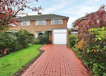Thumbnail 3 bed semi-detached house for sale in Brookhill Close, Copthorne, West Sussex