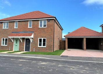 Mannock Drive, Manston, Ramsgate CT12. 2 bed semi-detached house for sale