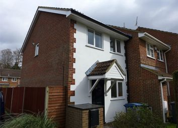 Thumbnail 2 bed end terrace house to rent in Netherhouse Moor, Church Crookham, Fleet