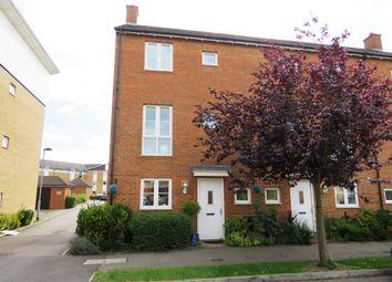 Thumbnail 4 bed end terrace house for sale in Eddington Crescent, Welwyn Garden City