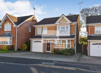 Thumbnail 4 bed detached house for sale in Crabtree Way, Dunstable