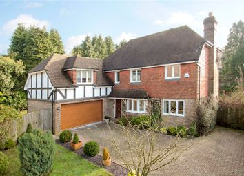 Thumbnail 5 bed detached house for sale in Langridge Close, Crowborough, East Sussex
