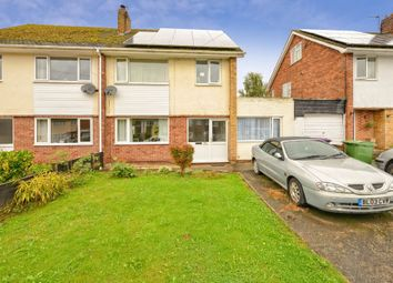 Thumbnail 4 bed semi-detached house for sale in Barnmeadow Road, Newport