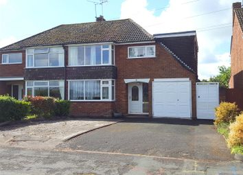 Thumbnail 4 bed semi-detached house for sale in Windermere Way, Stourport-On-Severn