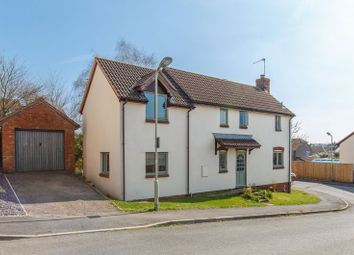 Thumbnail 4 bed detached house for sale in Hobbs Way, Bow, Crediton