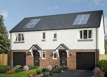 "Thumbnail 3 bed semi-detached house for sale in ""The Newton"" at Cupar Road, Guardbridge, St. Andrews"