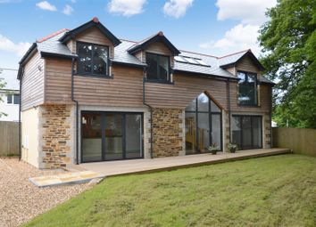 Thumbnail 3 bed detached house for sale in Treliever Road, Mabe Burnthouse, Penryn