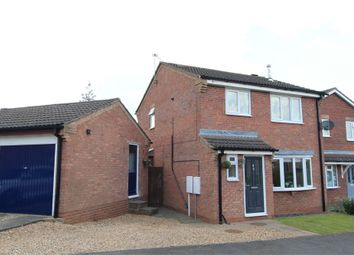 Thumbnail 3 bed detached house for sale in Pine Close, Lutterworth