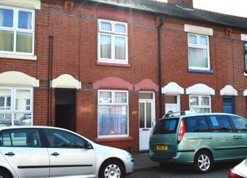 Thumbnail 2 bed terraced house for sale in Mere Road, Leicester