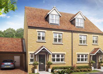 "Thumbnail 4 bed detached house for sale in ""The Leicester"" at Sheppey Way, Iwade, Sittingbourne"