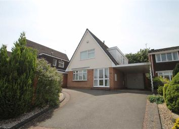 Thumbnail 3 bed detached house for sale in Naseby Drive, Halesowen, West Midlands