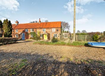 Thumbnail 3 bed end terrace house for sale in The Green, Stanhoe, King's Lynn