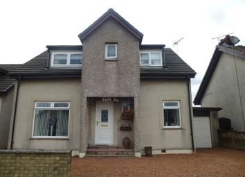 Thumbnail 3 bedroom detached house for sale in Mill Road, Riggend, Airdrie