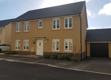 Thumbnail 4 bed detached house for sale in Baron Way, Newton Abbot