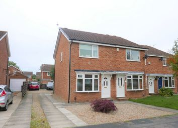 Thumbnail 2 bed semi-detached house to rent in Orrin Close, York, North Yorkshire