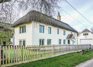 Thumbnail 5 bed detached house for sale in Nether Wallop, Stockbridge, Hampshire