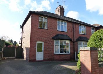 Thumbnail 3 bed semi-detached house for sale in Carlton Road, Northwich, Cheshire