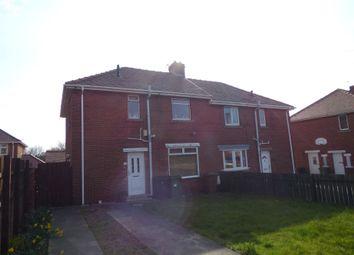 Thumbnail Semi-detached house for sale in Welfare Crescent, Newbiggin-By-The-Sea