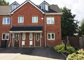 Thumbnail 4 Bed Town House For Sale In Wenlock Court Kingswood Road Nuneaton