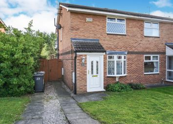 Thumbnail 2 bed semi-detached house for sale in Kinloch Close, Crewe