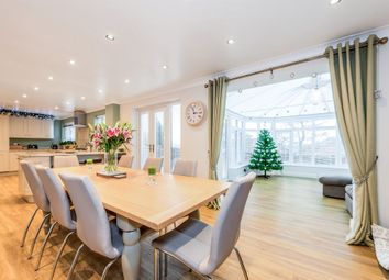 Thumbnail 4 bed detached house for sale in Bakewell Close, West Hunsbury, Northampton