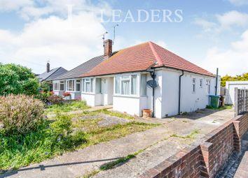 Thumbnail 3 bed bungalow to rent in Warren Crescent, East Preston, Littlehampton