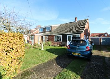 Thumbnail 2 bedroom semi-detached bungalow for sale in Limmer Avenue, Dickleburgh, Diss
