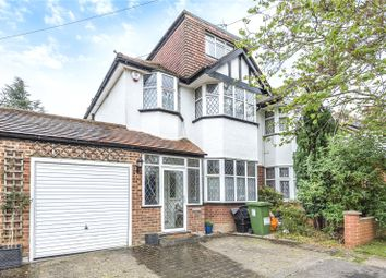 Thumbnail 5 bed semi-detached house for sale in Egerton Close, Pinner, Middlesex