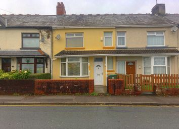 Thumbnail 3 bed terraced house for sale in Bedwas Road, Caerphilly