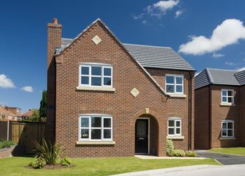 Thumbnail 4 bed detached house for sale in The Malham, Warmingham Lane, Middlewich, Cheshire
